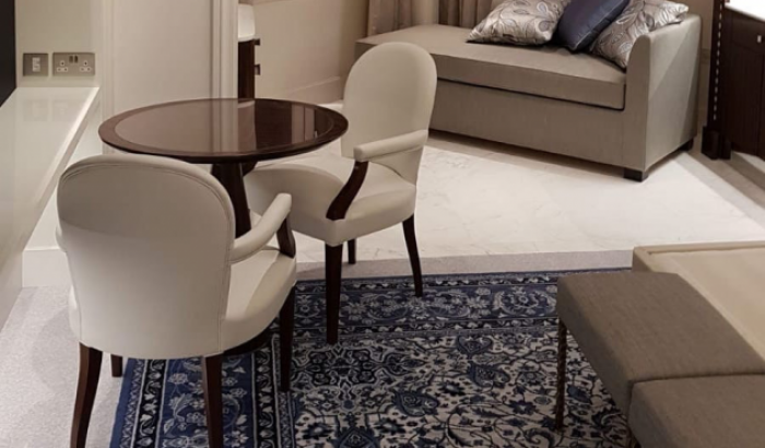 Luxury furniture for a hotel in Doha