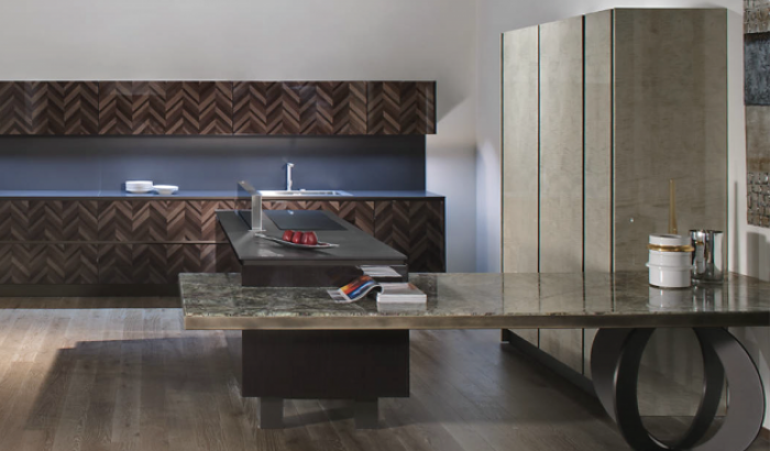 Luxury furniture: Marble as a modern concept